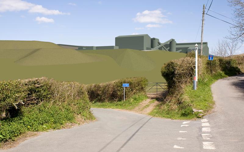 Drakelands Tungsten Mine, Devon