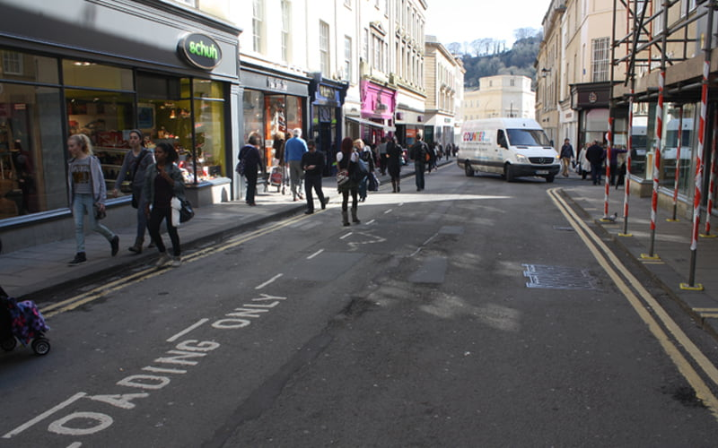 Bath City Centre: Pedestrian & Cycle Enhancements