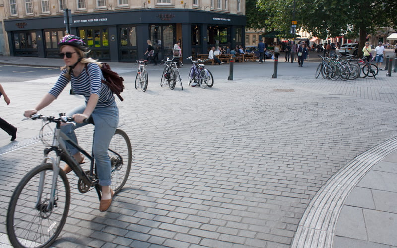 New shared space for City of Bath