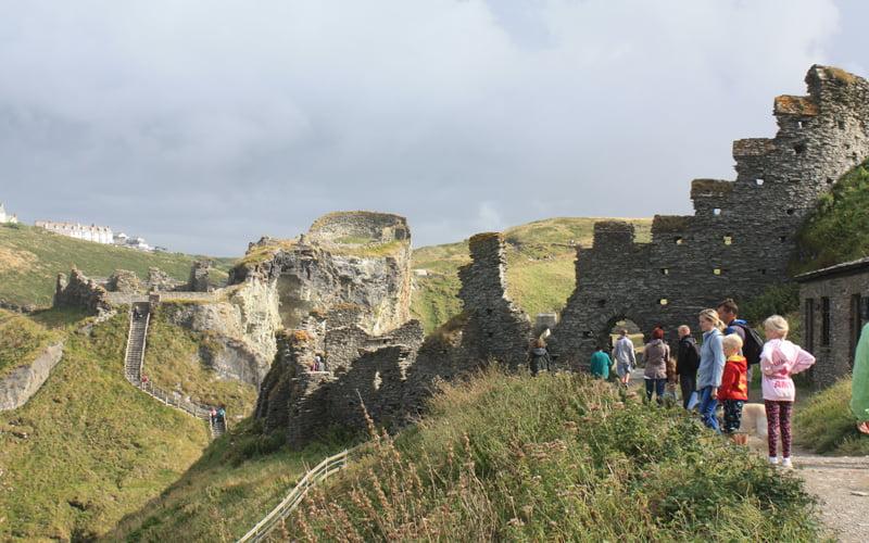 Tintagel Castle Bridge competition entries revealed