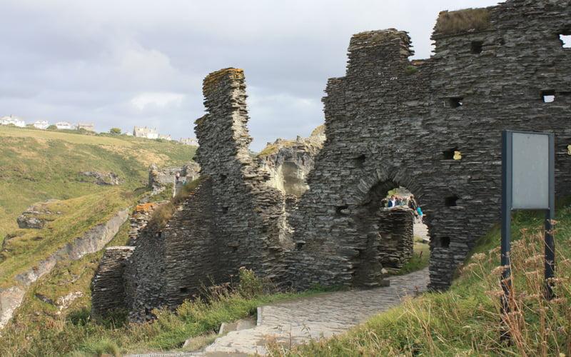English Heritage shortlist Tintagel Bridge Competition