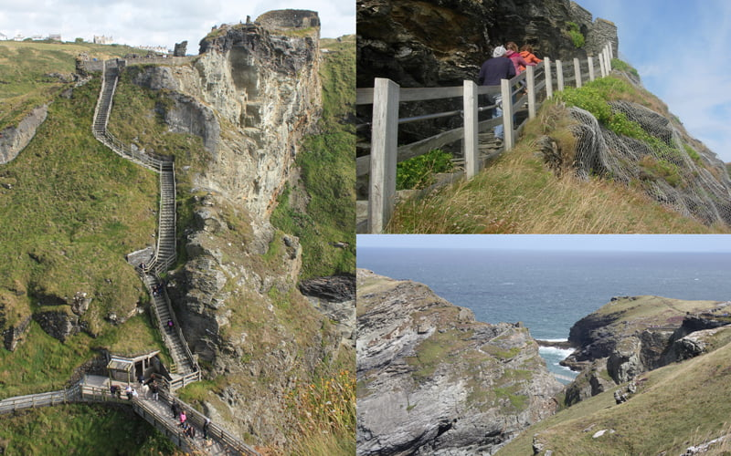 English Heritage shortlist Tintagel Bridge Competition