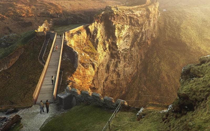 Tintagel Castle Bridge