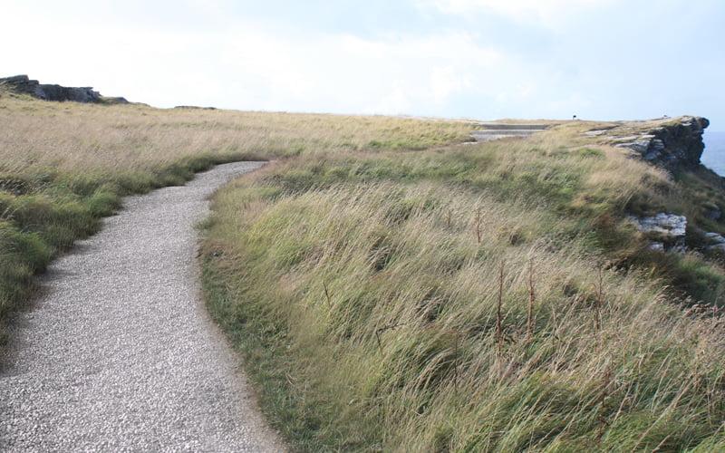 Tintagel Castle Footpaths
