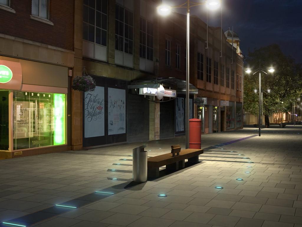Regent Street Swindon Nicholas Pearson Associates