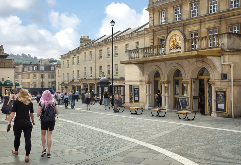 News - Saw Close Pedestrianisation Bath
