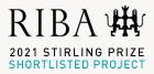 2021 RIBA Stirling Prize logo